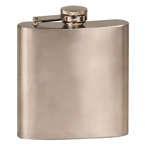 6 oz. Stainless Steel Flask - Not Laserable