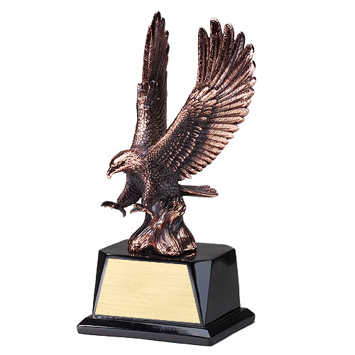 "10.5"" Electroplated Eagle Resin"