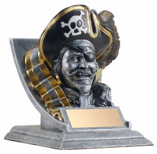 """4"""" Pirate Mascot"""