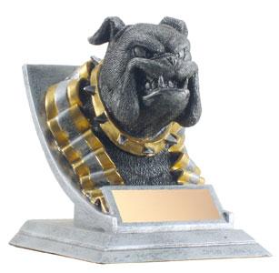 4 in Bulldog Mascot