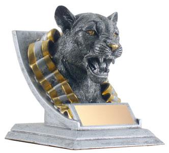 "4"" Cougar Mascot"