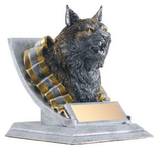 4 in Bobcat Mascot