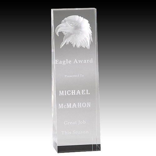 8 in Acrylic Eagle Award