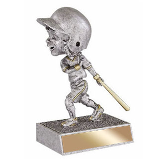 5.5 in Baseball Bobble Head - Female