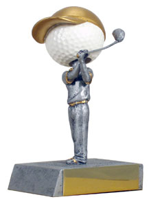 "5"" Golf Bobblehead"