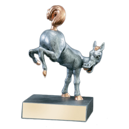Horse's Rear Bobblehead Trophy
