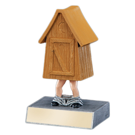 Outhouse Bobblehead Trophy