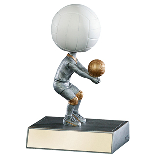 "5-1/2"" Volleyball Bobble Head"