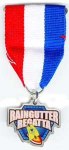 """1-1/4"""" Raingutter Regatta Medal"""