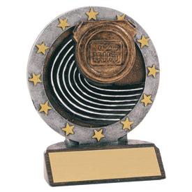 """4-1/2"""" Full Color Track Trophy"""