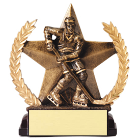 5-3/4 in Superstar Hockey Trophy