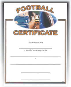Football (8-1/2 in x 11 in)