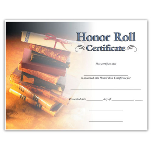Honor Roll (8-1/2 in x 11 in)