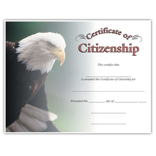 "Citizenship (8-1/2"" x 11"")"