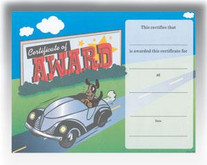 """Award (8.5"""" x 11"""")"""