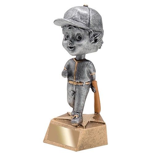 "5.75"" Baseball Bobble Head - Female"