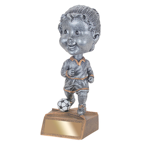 "5.75"" Soccer Bobble Head - Female"