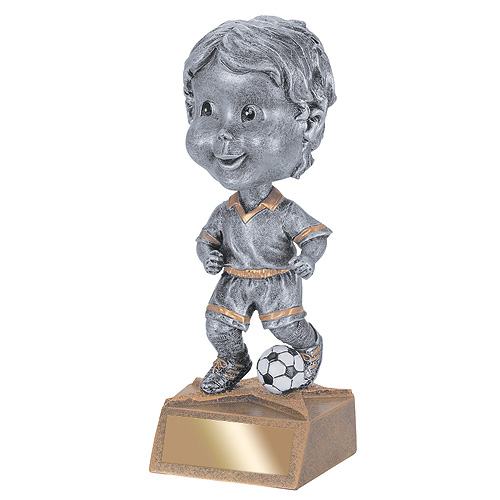 5.75 in Soccer Bobble Head - Male
