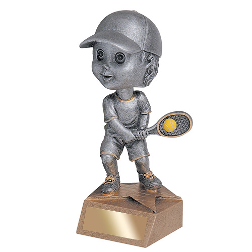 5.75 in Tennis Bobble Head - Male