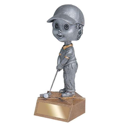 5.75 in Golf Bobble Head - Male