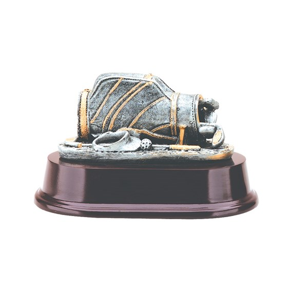 "Golf Bag Trophy 3"" tall"