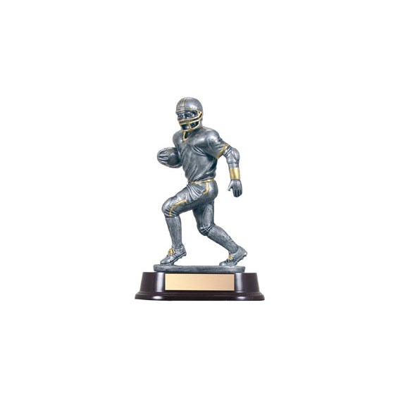 Football Resin Running Back 9""