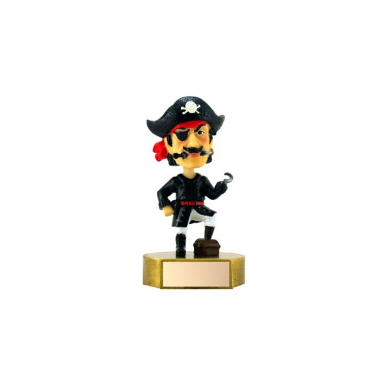 "6"" Pirate Mascot Bobble Head"