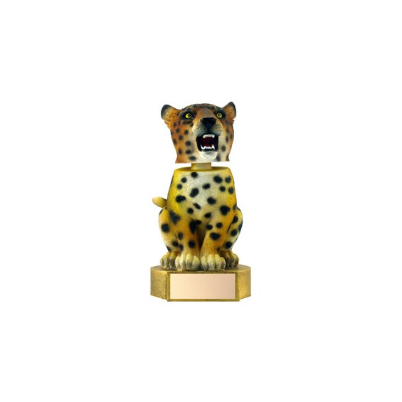 6 in Jaguar Mascot Bobble Head