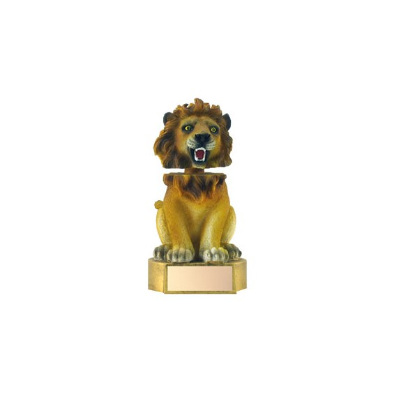 "6"" Lion Mascot Bobble Head"