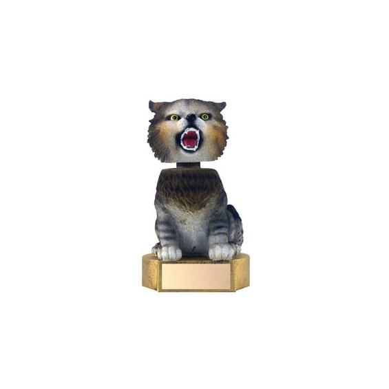 "6"" Wildcat Mascot Bobble Head"
