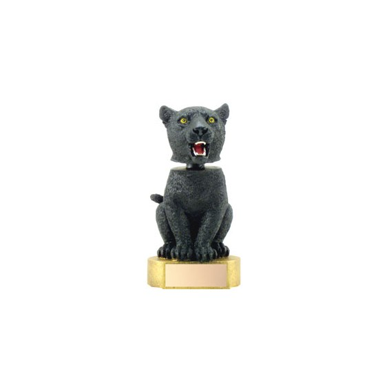 6 in Panther Mascot Bobble Head