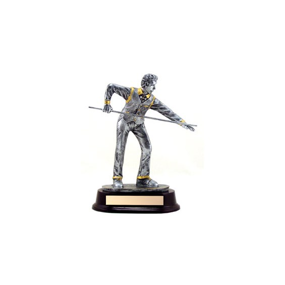 "9"" Resin Sculpture Billards Trophy"