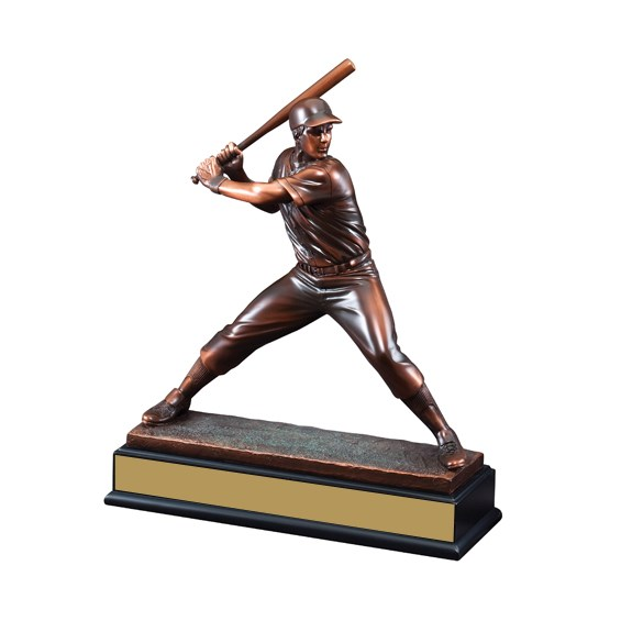 "15"" Resin Sculpture Baseball Trophy"