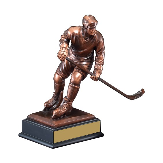 12 1/2 in Elegant Hockey Trophy