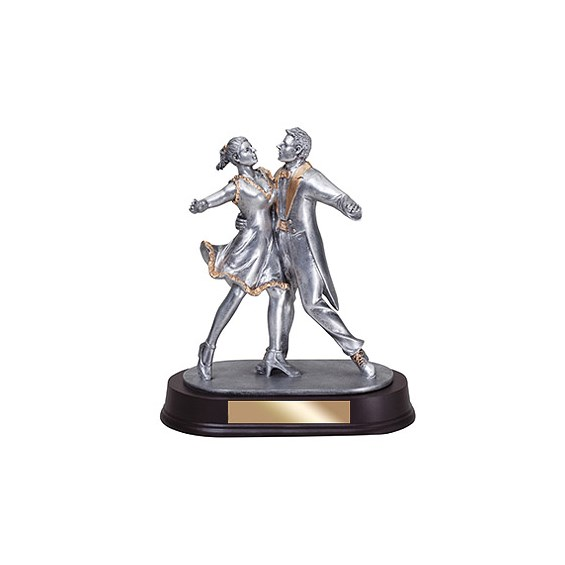 9 in Dance Couple Resin