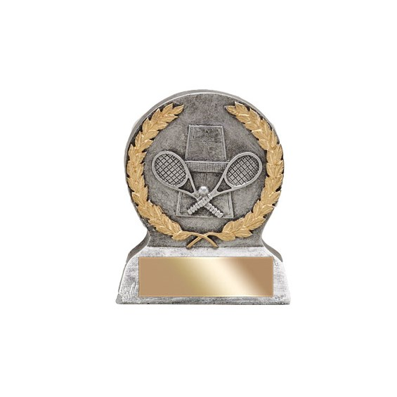 5 in Tennis Resin Trophy