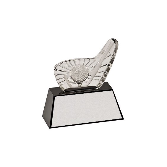 6 in Crystal Golf Trophy