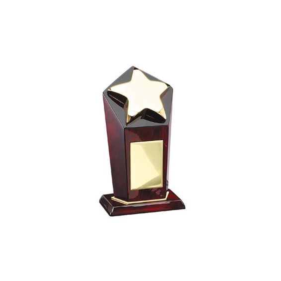 "8.5"" Elegant Rosewood Piano Finished Star Award"