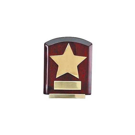 """6"""" Rosewood Star Award"""