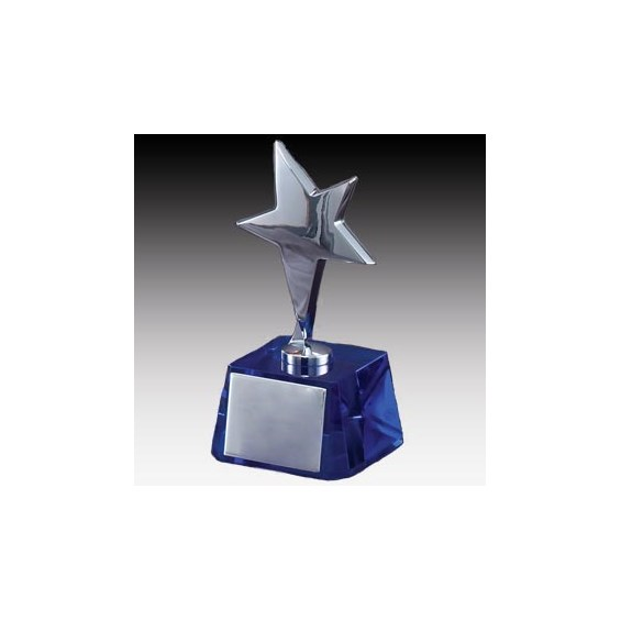 "6"" Crystal Star Award"
