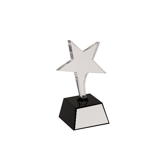 7.5 in Crystal Shooting Star Award