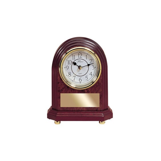 "8"" Rosewood Mantle Clock"
