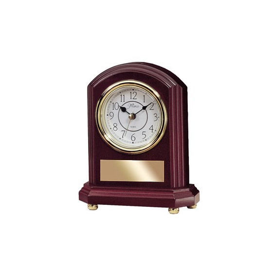 8 in Rosewood Mantle Clock