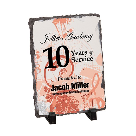 5.5 in x 7.5 in Stone Plaque w/ Stand