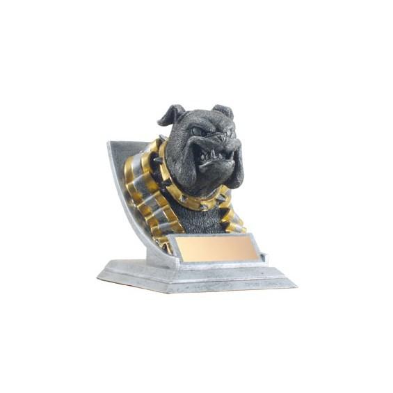 "4"" Bulldog Mascot"