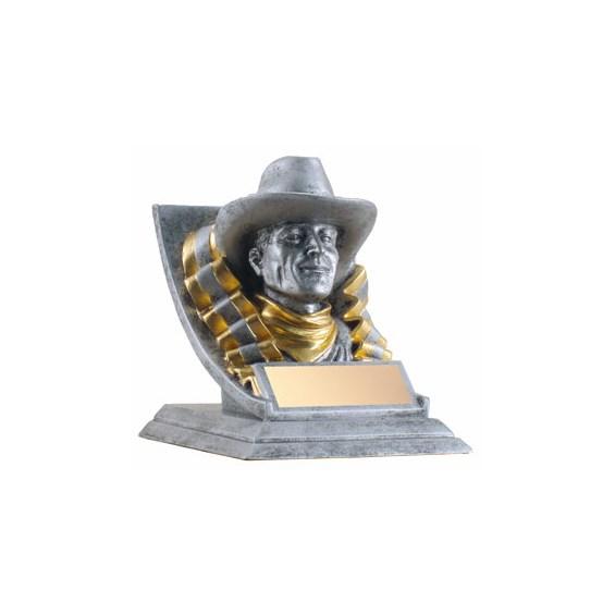"""4"""" Cowboy Mascot"""