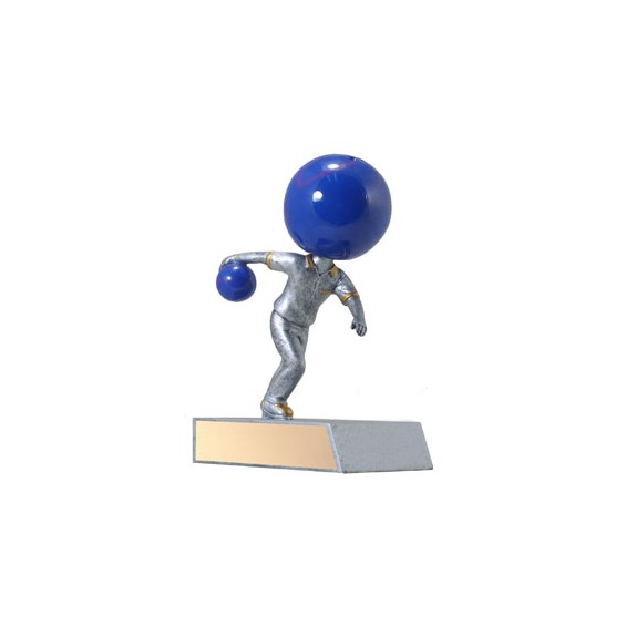5.5 in Bowling Bobble Head Trophy