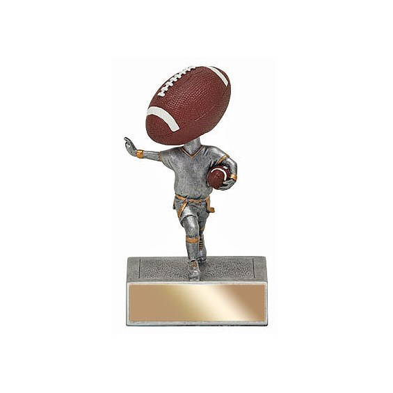 "5.5"" Flag Football Bobble Head"