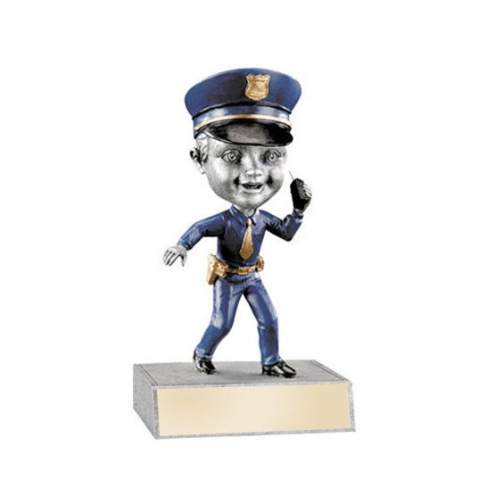 Police Bobblehead Trophy