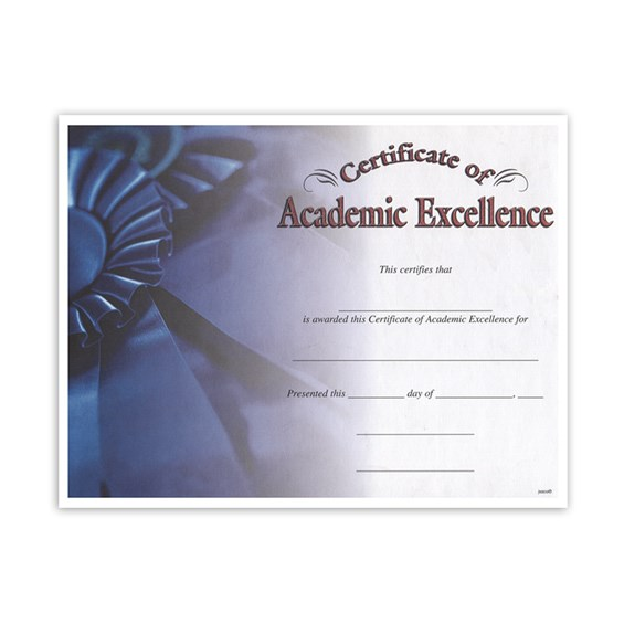 Academic Excellence (8-1/2 in x 11 in)